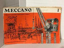 Meccano Vintage Catalogue Number 1 / 69