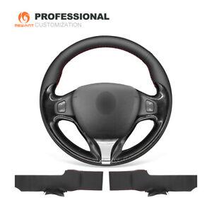 Genuine Leather Car Steering Wheel Cover for Renault Clio 4 Captur Samsung QM3