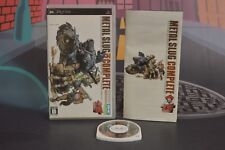 METAL SLUG COMPLETE VERSION JAP SONY PSP 24/48H COMBINED SHIPPING