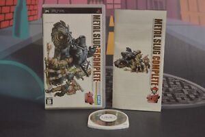 Metal Slug Complete Version Jap sony Psp Combined Shipping