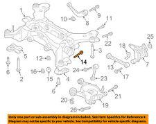 FORD OEM Rear Suspension-Trailing Control Arm Adjust Bolt DG9Z5K978A