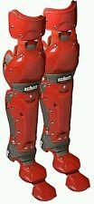 Schutt Sports Scorpion Double Knee Leg Guard Scarlet, 14-Inch