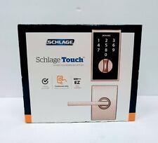 NEW Schlage Touch Keyless Touchscreen Security Set Century/Latitude Satin Nickel