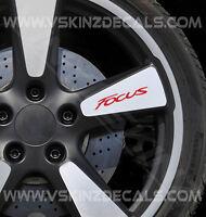 Ford Focus Premium Wheel Decals Stickers ST RS Titanium Zetec S Style Sport x4