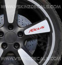 Ford Focus Premium Rueda Calcomanías Stickers St Rs Titanio Zetec S Estilo Sport X4