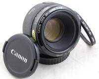 CANON EOS EF 50mm 1.8 Lens METAL Mount for 1D 5D 6D 7D 90D 80D 77D 70D T8i T7i