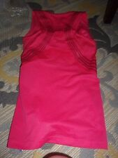 WOMAN'S REEBOK EASYTONE FITTED ATHLETIC TOP W/BUILT IN BRA SIZE M