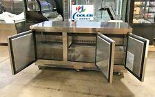 Nsf Undercounter freezer 72 ins Tuc72F Under Counter Worktop