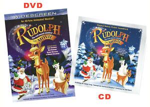 Rudolph Reindeer The Movie - DVD/CD Combo 2 Discs New