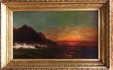 Orig Hudson River School Oil Painting!! C.1850's W/COA and APR $20K Value!!!!!!!