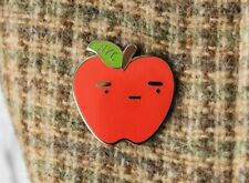 Great For Gifts - By From Jenni Enamel Pin Nyc Big Apple Tourist Red Pin