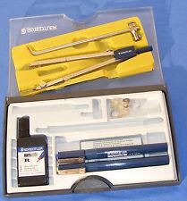 Compas professionnel STAEDTLER avec prolongateurs + stylos marsmatic 700