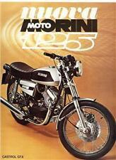 1976? Moto Morini 125cc original large sales brochure