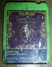JETHRO TULL - LIVING IN THE PAST 8 Track Tape Rare Collectible for FANS!!!!!!!!!
