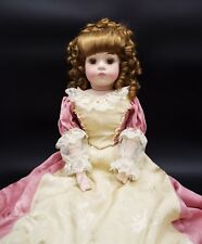 """ANTIQUE REPRODUCTION marked BRU JNE 11 porcelain bisque DOLL 22"""" TALL w clothes"""