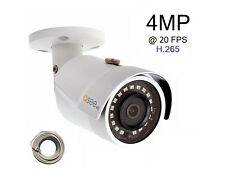 Q-See 4 MP Camera IP HD with H.265, Video Surveillance POE - QCN8068BA