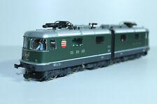 """HAG 200 SBB Re 6/6 grün zweiteilige Gelenklok """"Morges"""" Betr.Nr. 11602, WS - OVP"""