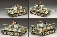 King & Country Ww2 German Army Ws177Sl Snow Tiger Tank Set Mib