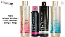 2 X Avon Advance Techniques BONUS SIZE 400ml Shampoo/Dry Shampoo/2 in 1~Various