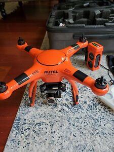 Autel Robotics X-Star Premium Drone Orange Controller Charger Battery Case Card