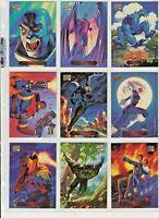 1994 MARVEL MASTERPIECES - Brothers Hildebrandt Art - Complete Card Set #1-140