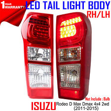 For Isuzu Rodeo D-Max Dmax 4x4 2wd 2012-16 13 15 RH/LH TailLight Body Lens Red