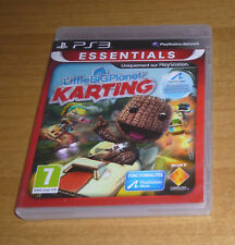 Jeu playstation 3 PS3 - Little big planet Karting (Course comme mario kart)