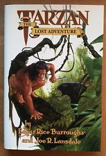 TARZAN: THE LOST ADVENTURE LIMITED EDITION (AP23) HC by Burroughs & Lansdale