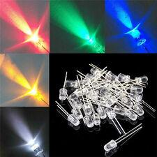 1000pcs 5mm Round Redgreenblueyellowwhite Water Clear Led Light Diodes Kit