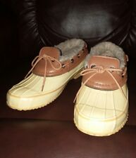 Comfort View Rain Shoes Boots Duck Womens Size 7M Loafer Yellow...