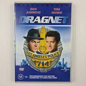 Dragnet DVD - Dan Aykroyd, Tom Hanks - Region 2,4 - TRACKED POST