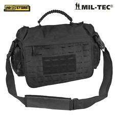BORSA TATTICA MILTEC TACTICAL PARACORD BAG LASER CUT SOFTAIR SURVIVOR LARGE NERO
