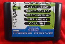 Mega GAMES 6 vol.2 - ZB ALIEN Storm/Super TONNO ripiego di carico-SEGA MEGA DRIVE PAL