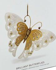 Hallmark Ornaments Brilliant Butterflies 2018-2nd in series.Mint In Mint Box.