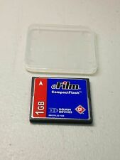 "Efilm Delkin 1Gb ""Compact Flash"" with case"