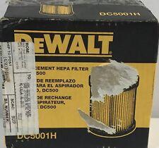 Dewalt Replacement Hepa Filter for Dc500 (Dc5001H)