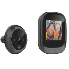 """2.4"""" Digital Peephole Door Viewer Video Camera Wide Angle Doorbell Intercom"""