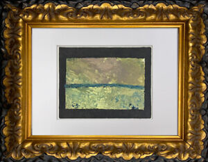 """Georges BRAQUE Lithograph  """"Les Champs"""" 1955 Limited Edition SIGN w/Frame"""