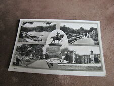 1950s Chadwick real photo Postcard - Leeds multi view - Yorkshire