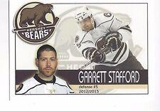 2012-13 Hershey Bears (AHL) Garrett Stafford (Ässät)