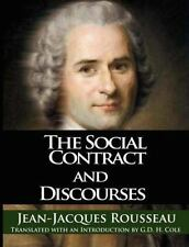 Social Contract and Discourses: By Jean Jacques Rousseau