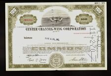 CUSTER CHANNEL WING CORPORATION Aircraft Aviation 1968 issued to Blair & Co