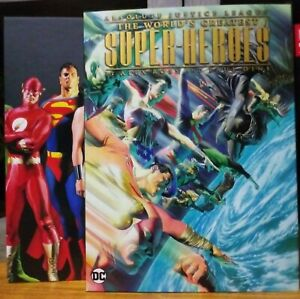 DC Absolute Justice League Worlds Greatest Super-Heroes OOP  Hardcover Slipcase