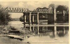 WEIR'S BRIDGE ENNISKILLEN CO. FERMANAGH  IRELAND S R BUTLER POSTCARD No. 469