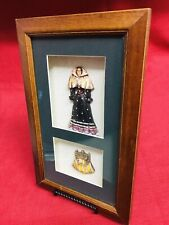 Vintage Antique Style Picture Wall Hanging Shadow Box Formal Dinner Dress Purse