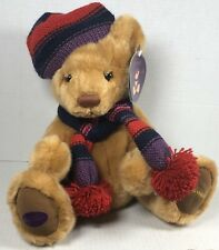 """Harrods Knightsbridge 2004 Teddy Bear Plush Collectable Puppet With Tags NWT 10"""""""