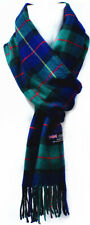 Winter Unisex 100% CASHMERE Warm Checked Scarves Wool SCOTLAND Made Plaid Scarf