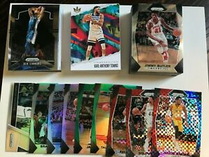 Random lot of Panini NBA cards x 105 incl Parallels and Inserts