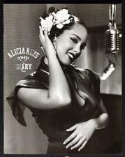 Alicia Keys Original Diary Tour 2005 Concert Program Book w/Photos Soul R/B Nice