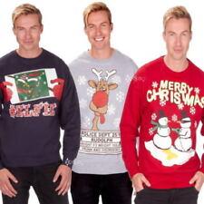 Christmas Crew Neck Hoodies & Sweats for Men